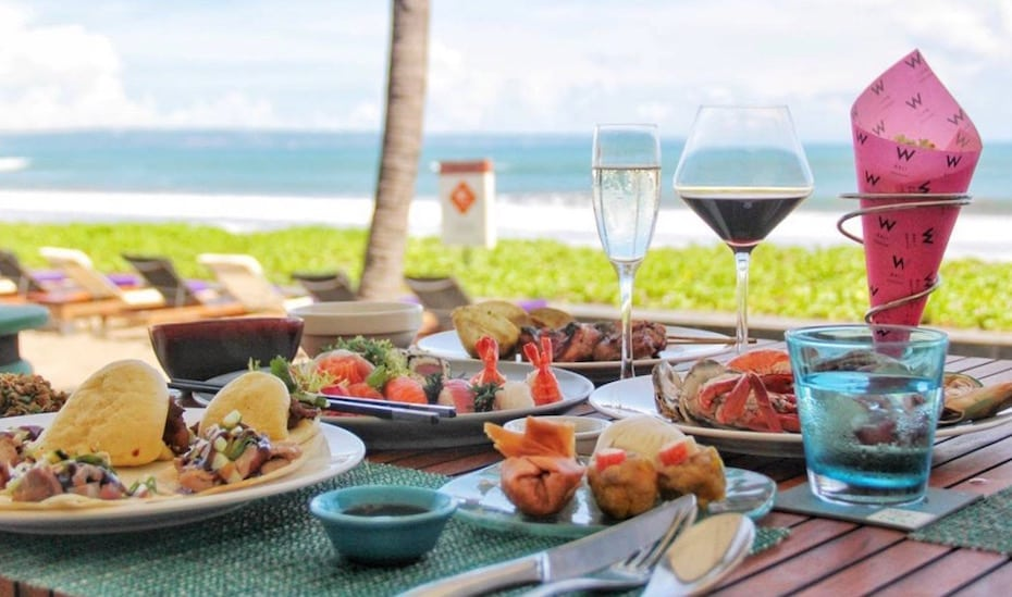Bali's Brunch Bunch | Our fave Sunday spreads with gourmet buffets & beachfront bubbles