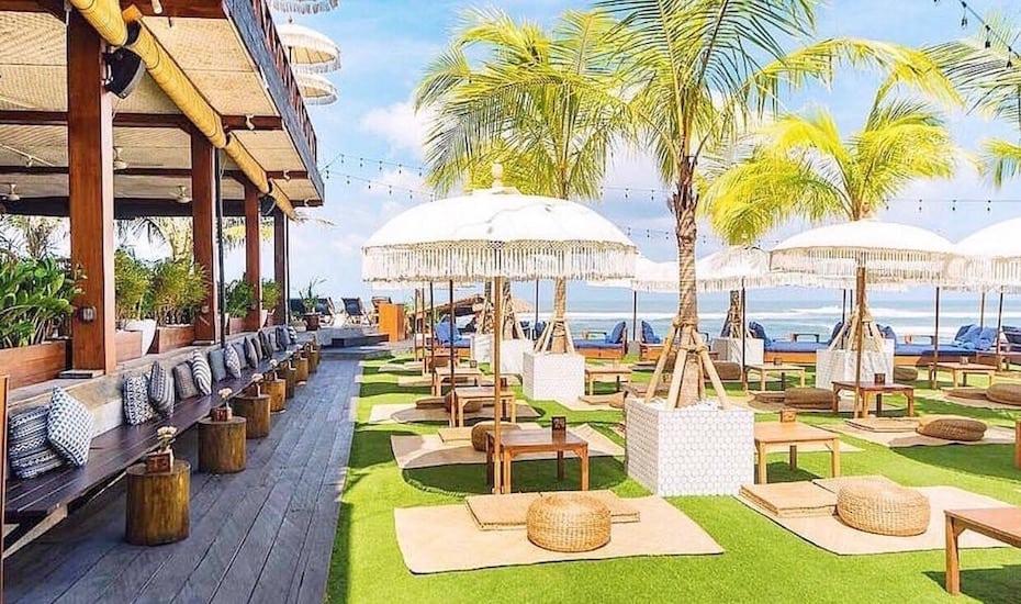 Bali's best beach clubs - The Lawn Canggu