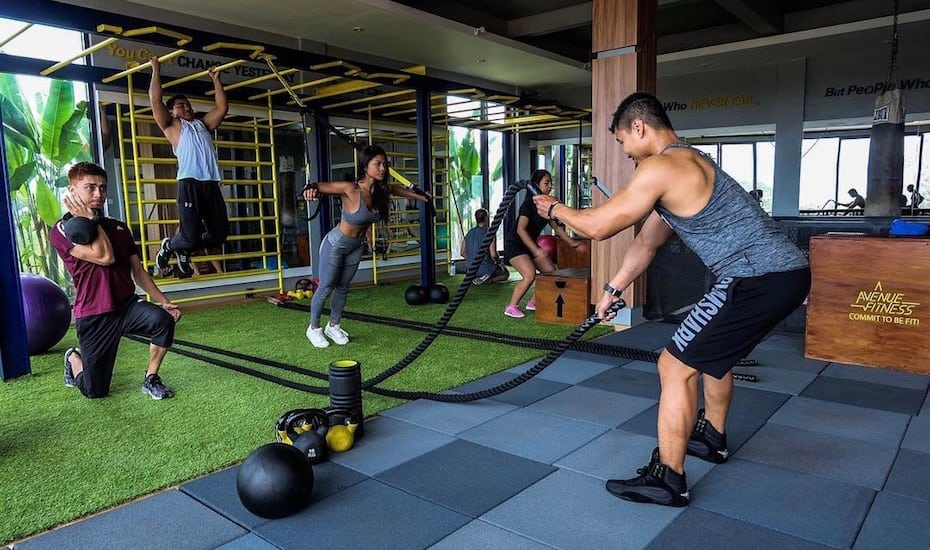 Best gyms in Bali - Avenue Fitness Canggu