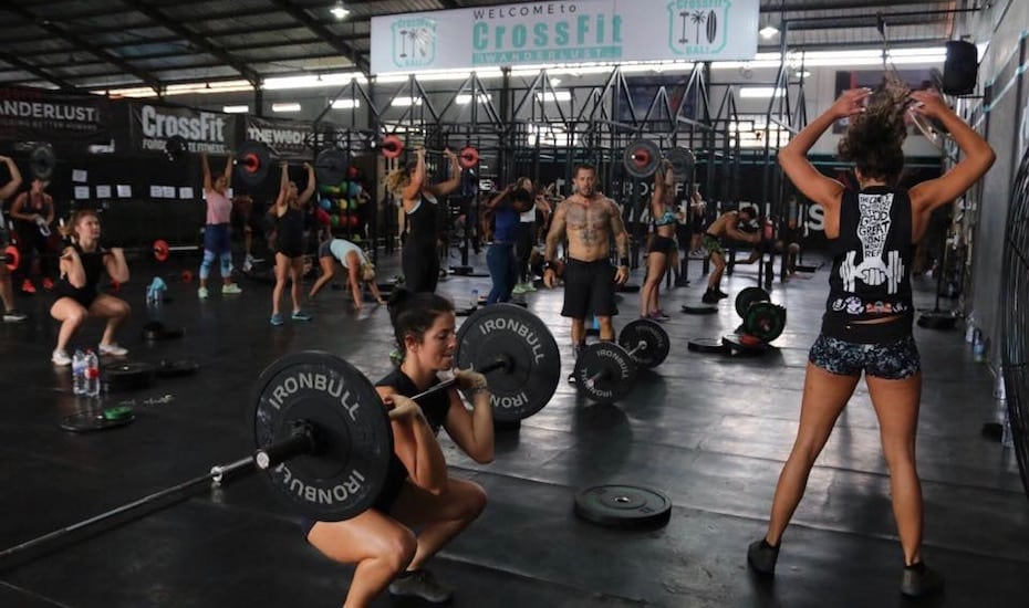 Best gyms in Bali - CrossFit Wanderlust Canggu