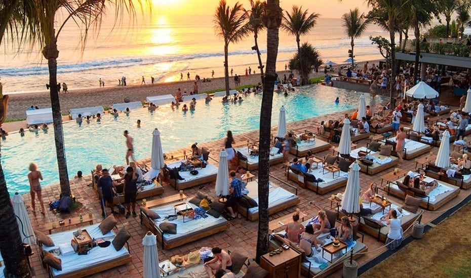 Best beach clubs in Bali - Potato Head Seminyak