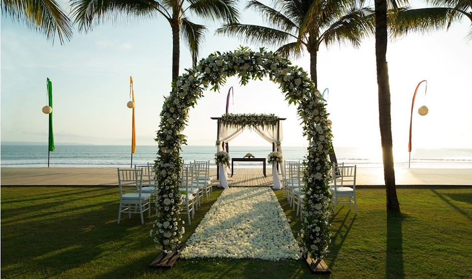 The Samaya Seminyak Wedding