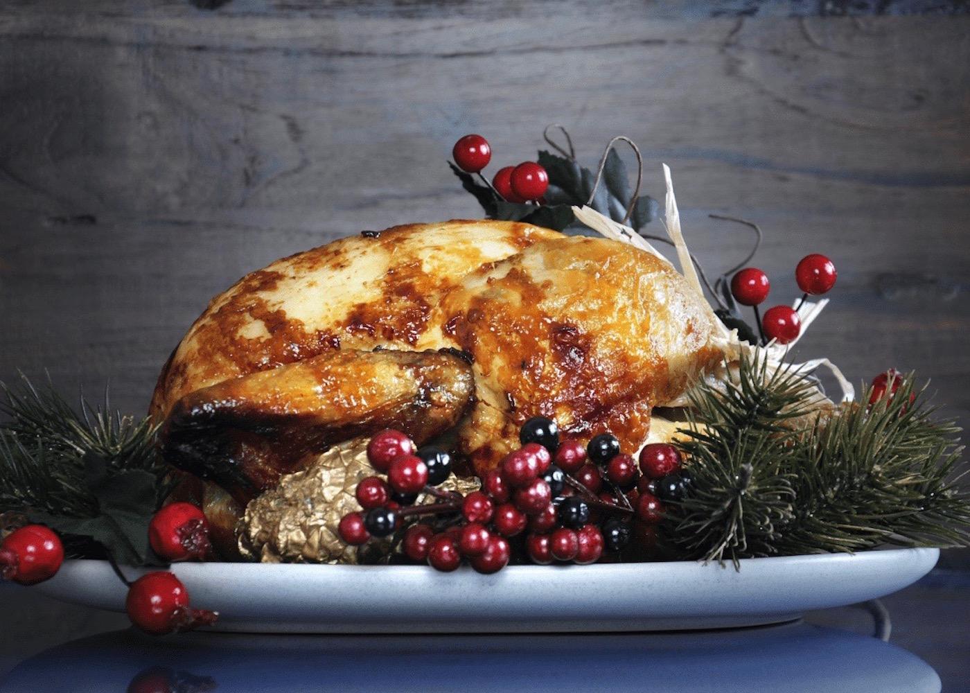 Christmas Eve turkey dinner