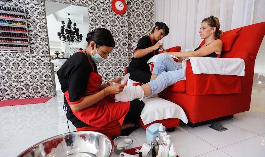 Best Seminyak spas - Glo Day Spa & Salon