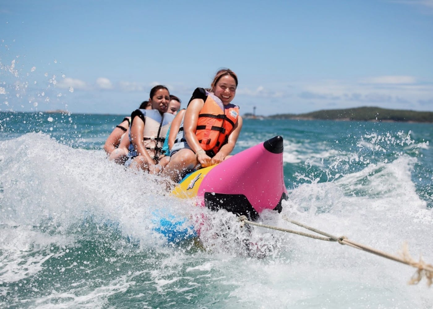 Banana Boat Rides - fun water sports in Bali, Indonesia