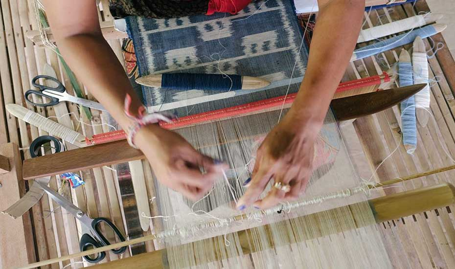 Weaving Week : 7 days ikat and backstrap loom workshop