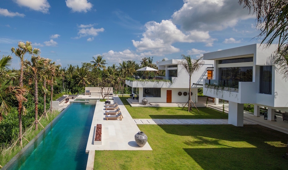 Where to stay in Canggu - The Palm House - Bali Villa
