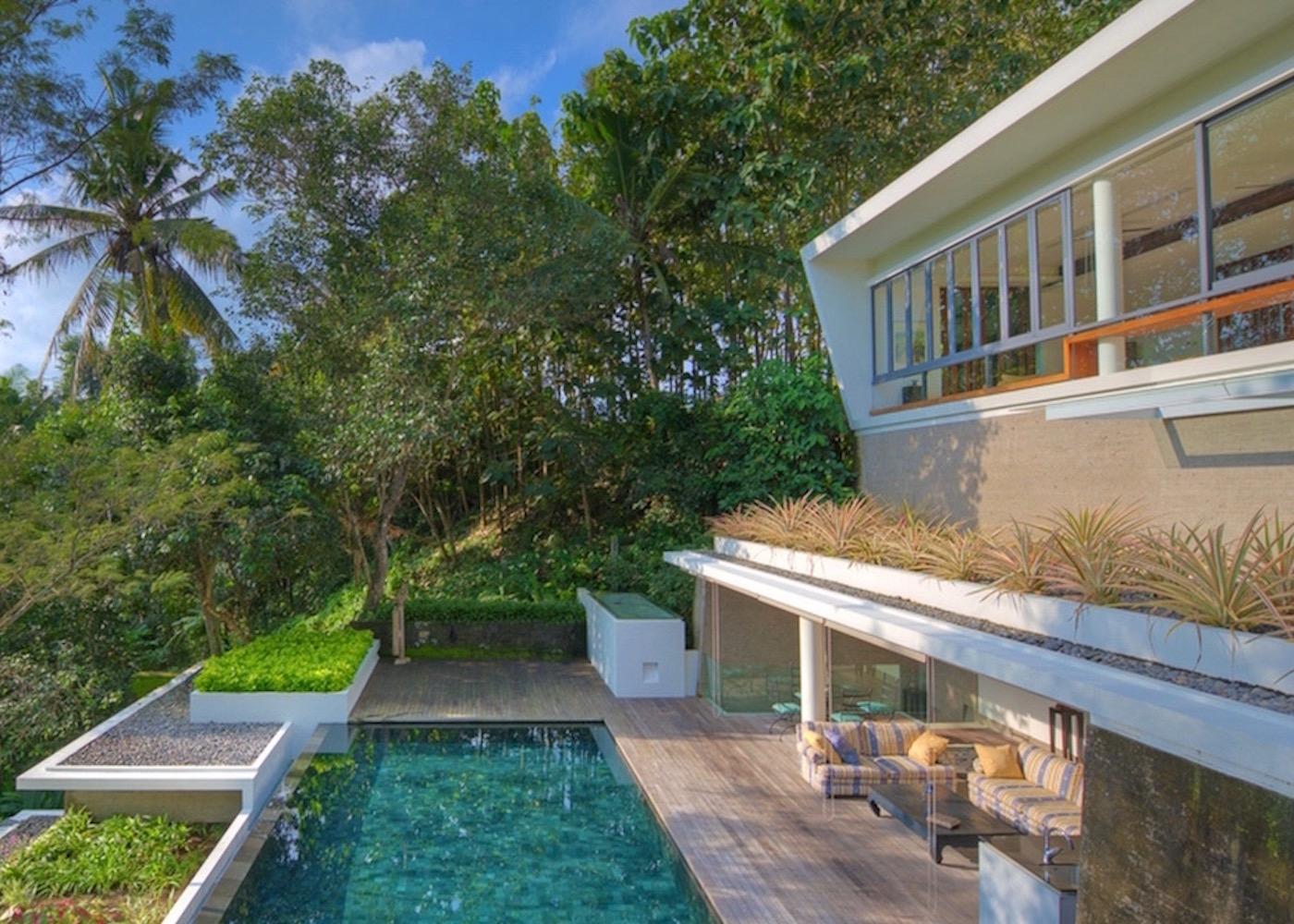 design villas in Bali - villa ngomfi