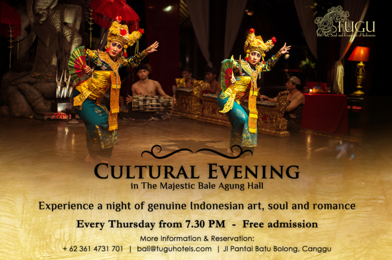 Live Ancient Balinese Dance & Gamelan Performance
