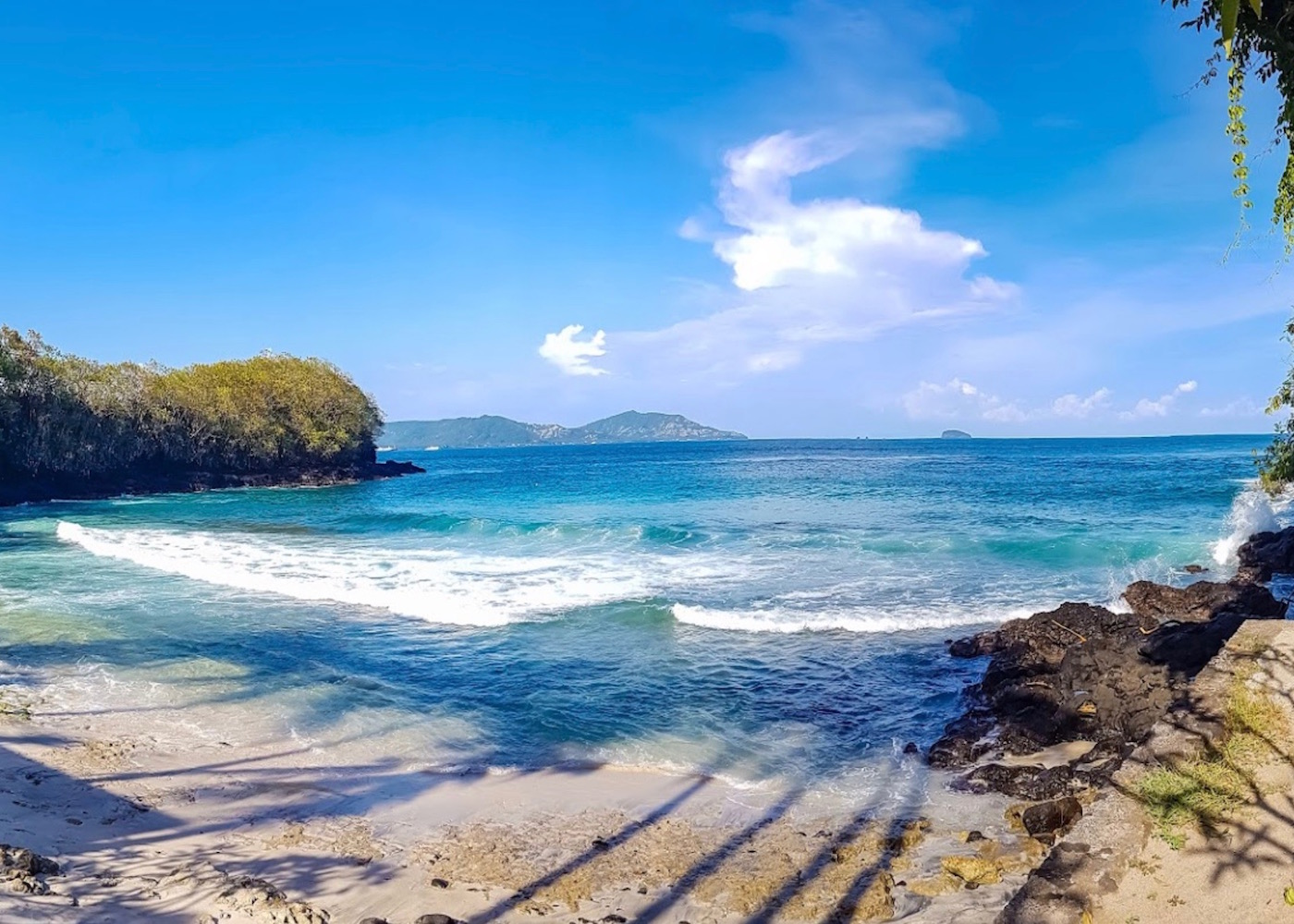 The Blue Lagoon at Padang Bai, one of Bali's best beaches
