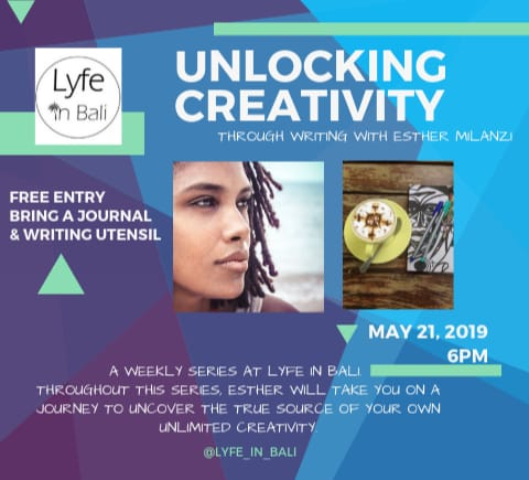 Unlocking Creativity - Tuesdays at Lyfe in Bali