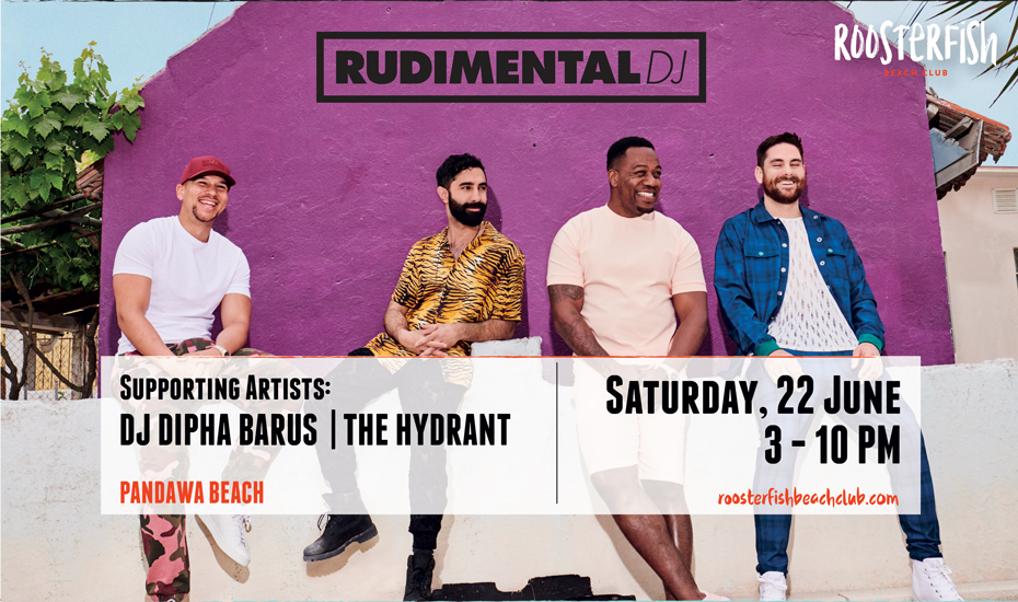 Rudimental DJ at Roosterfish Beach Club