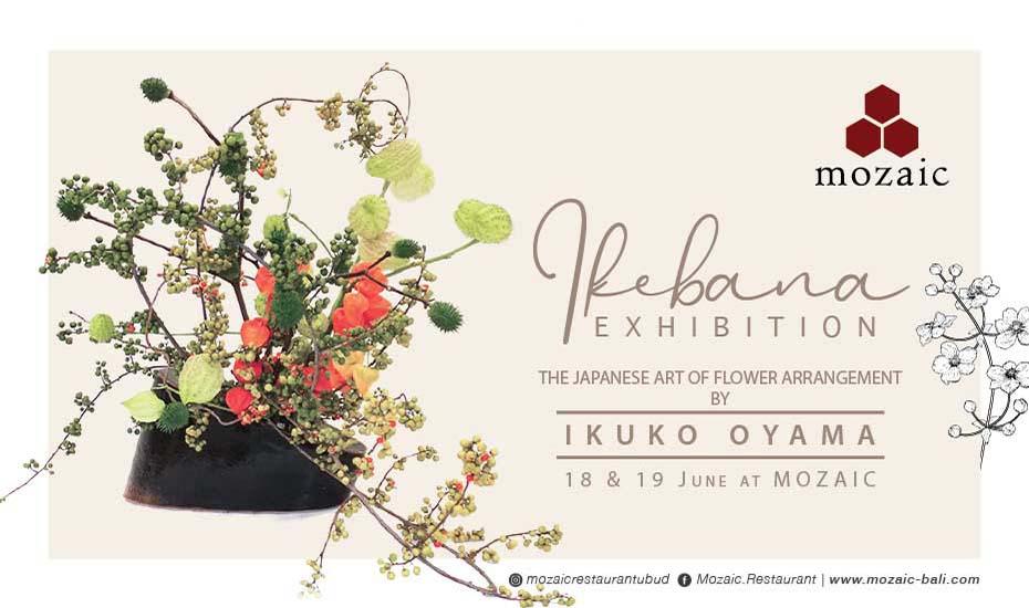 Ikebana Exhibition at Mozaic