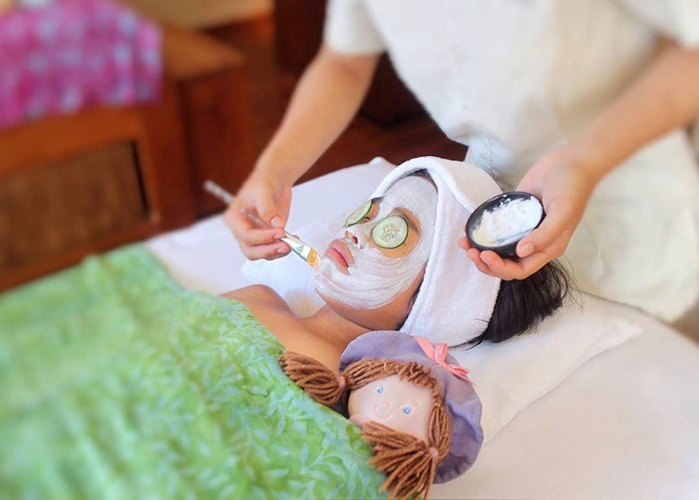 The best spas for kids in Bali with Mummy & Me pampering packages