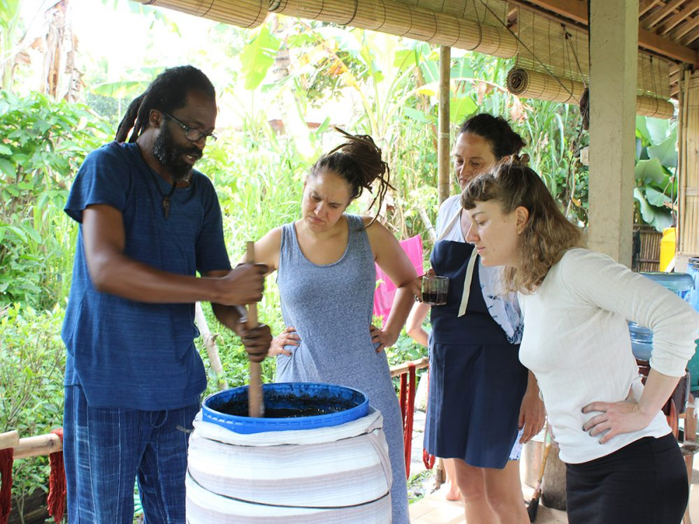4-day Indigo Sugar Vat Workshop with Aboubakar Fofana
