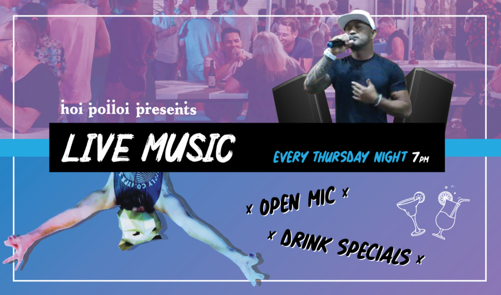 LIVE MUSIC Every Thursday
