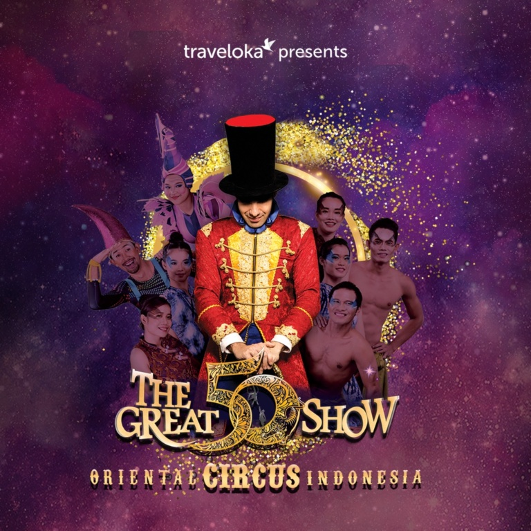 The Great 50 Show  by Oriental Circus Indonesia