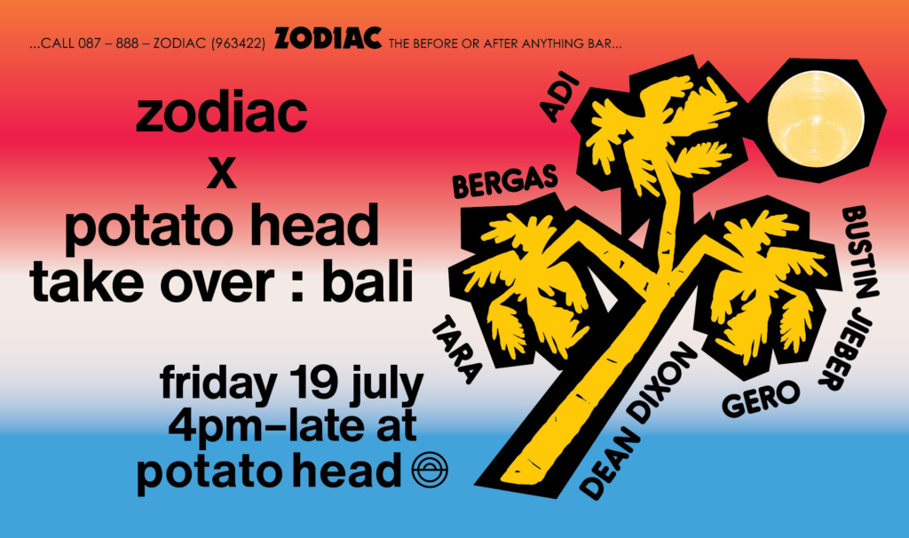 Zodiac x Potato Head: Bali Takeover