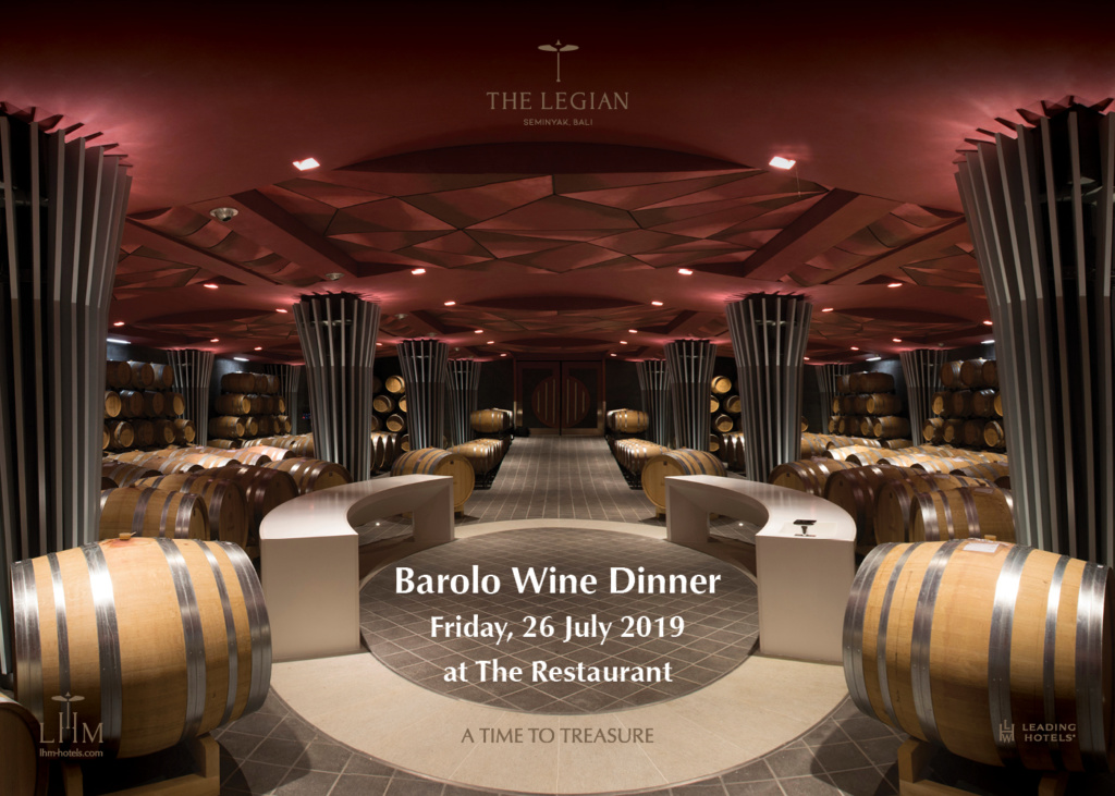 Barolo Wine Dinner at The Restaurant