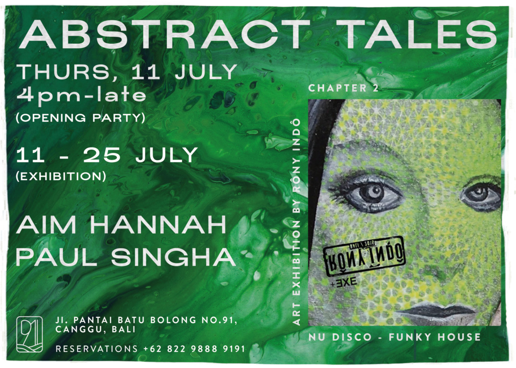 Abstract Tales: Art Exhibition by Rôny Indô