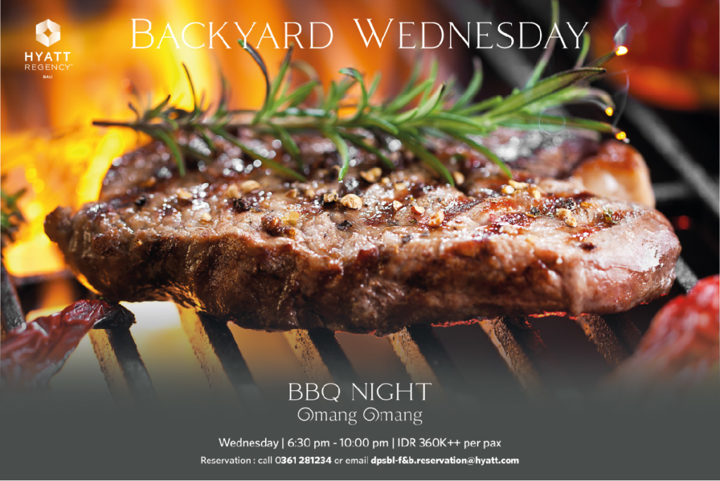Wednesday Backyard BBQ