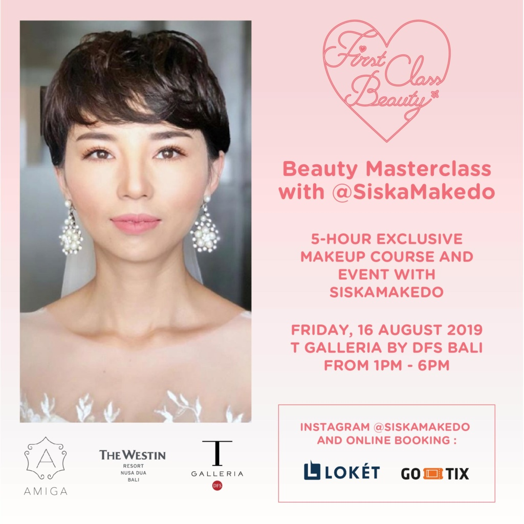 Beauty Masterclass with Siskamakedo   Honeycombers Bali