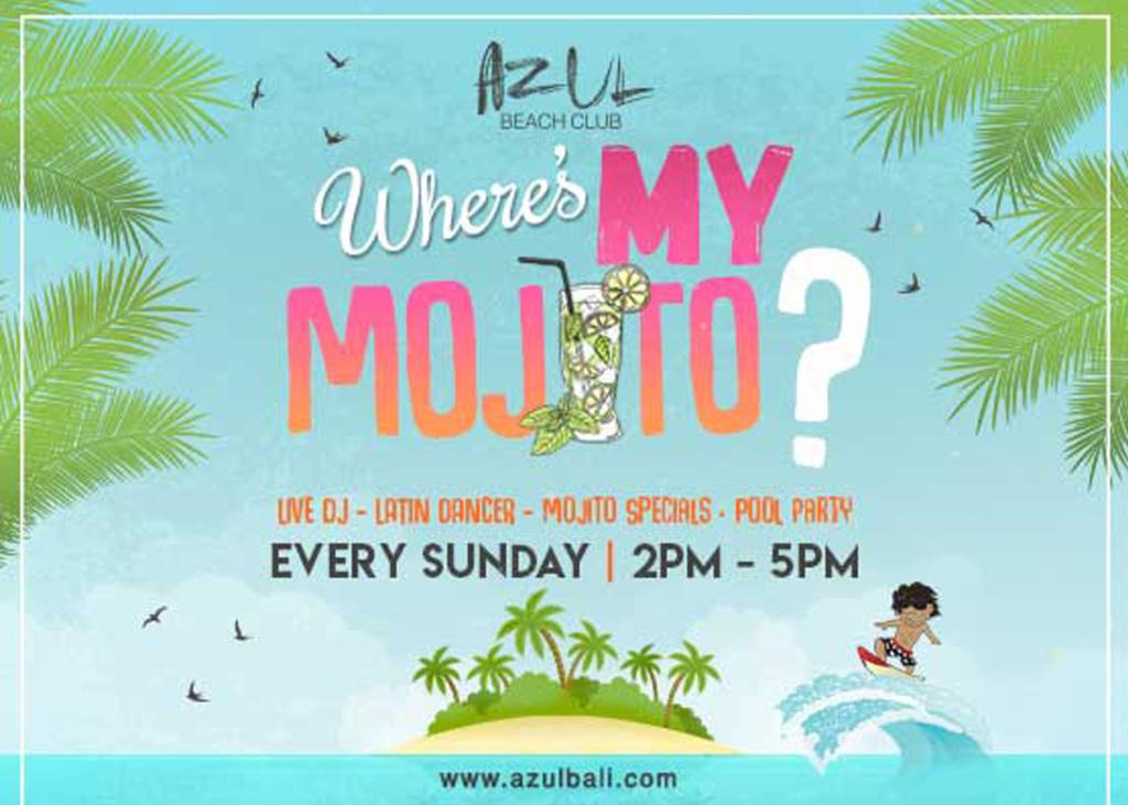Where's My Mojito? at Azul Beach Club