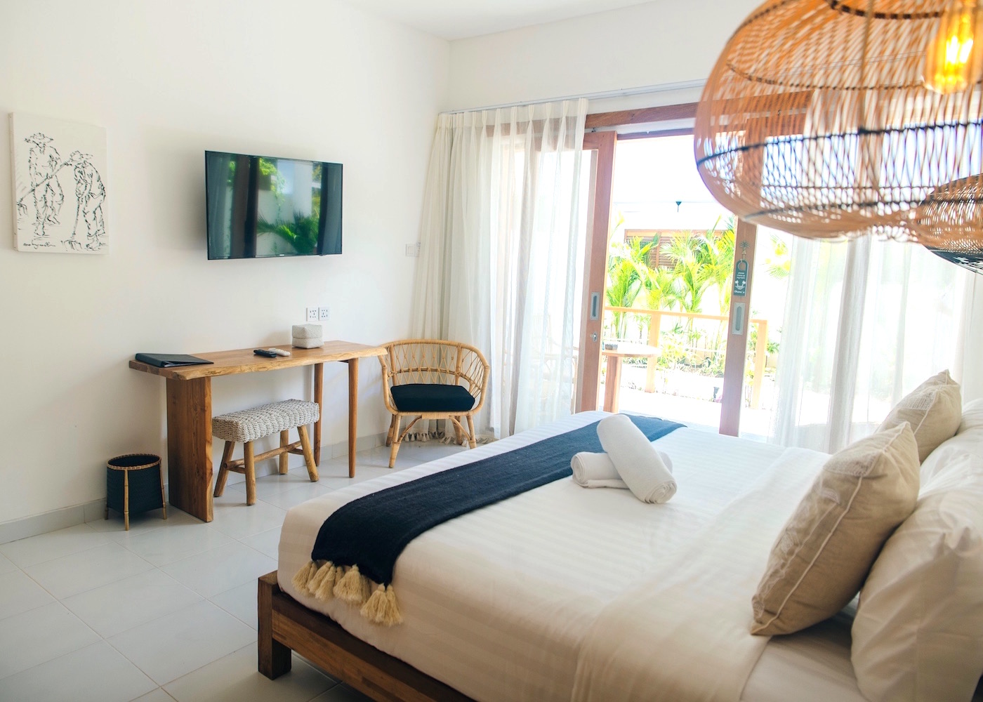 Ohana's boutique hotel on Nusa Lembongan island in Bali, Indonesia