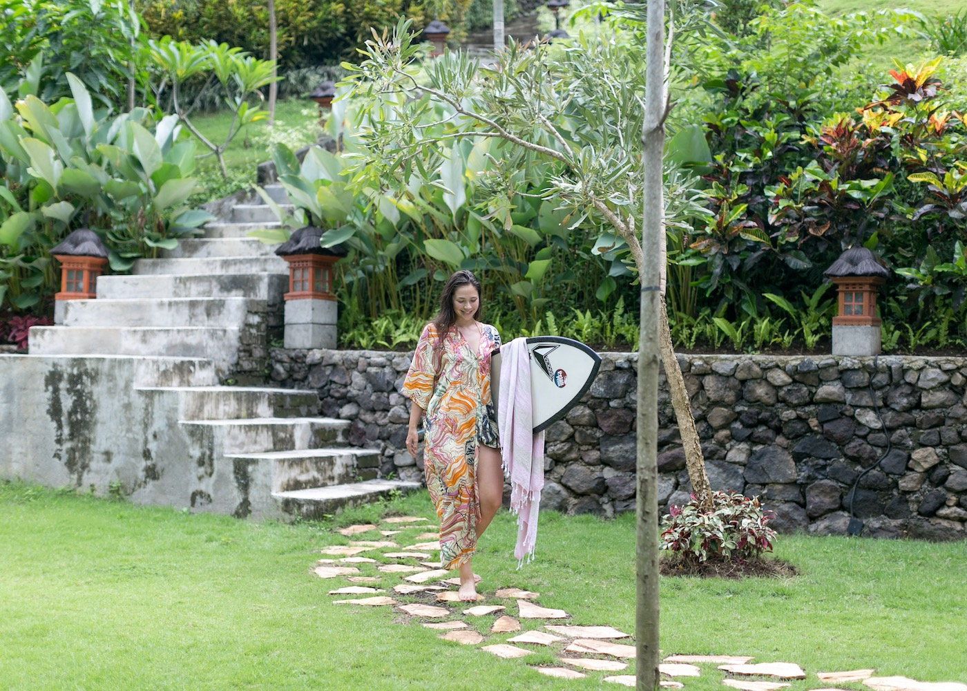 Surf, stretch & chill at Pelan Pelan – a totally flexible, family-run Bali retreat that's taking things back to basics