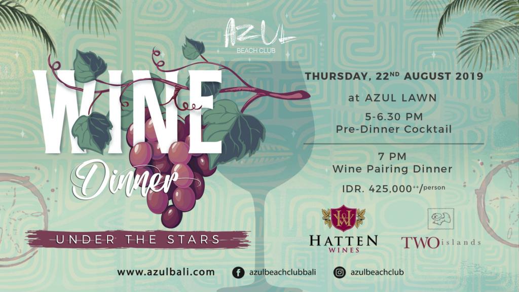 Wine Dinner Under The Stars