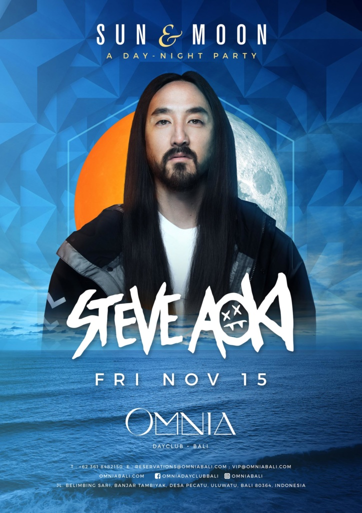 OMNIA BALI presents SUN & MOON with STEVE AOKI