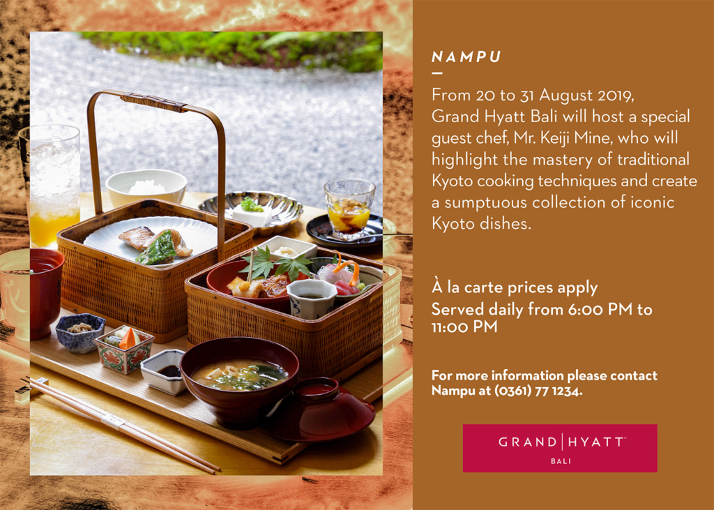 Taste of Kyoto at Nampu