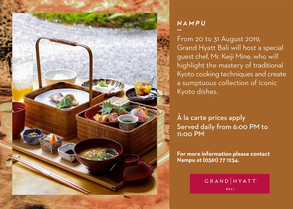 Taste of Kyoto at Nampu