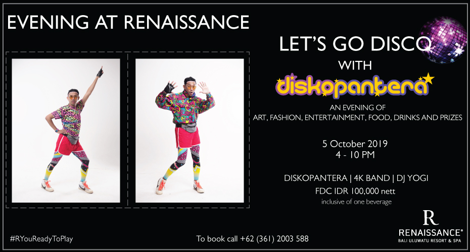 Let's Go Disco with Diskopantera