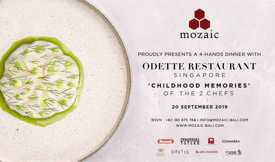 Mozaic X Odette 4-Hand Dinner