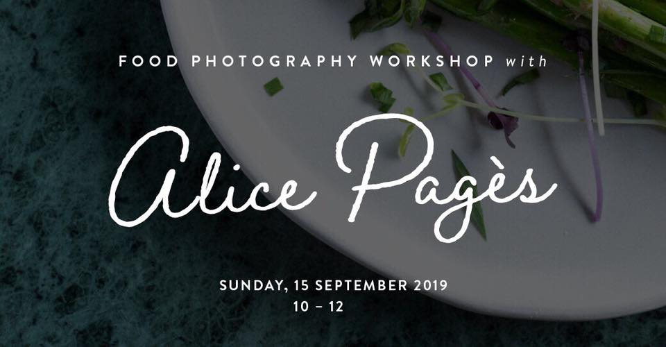 Food Photography Workshop with Alice Pagès