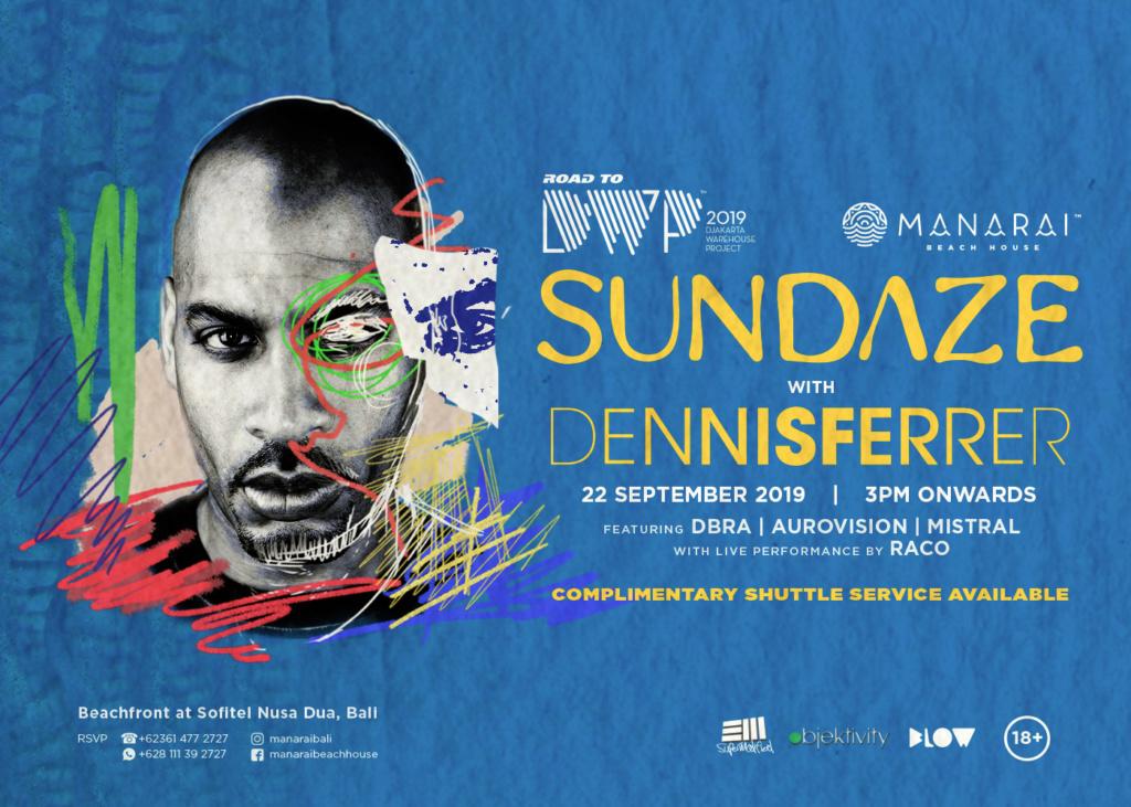 Road To DWP19 / Sundaze feat. Dennis Ferrer