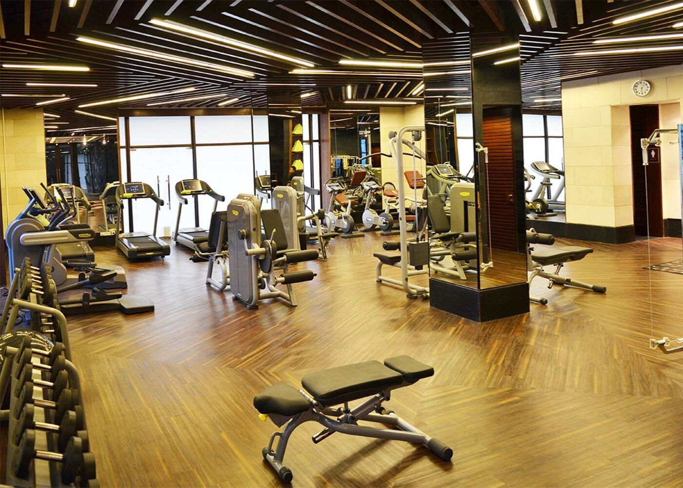 Fitness equipment at SoFit at Sofitel Bali Nusa Dua Beach Resort