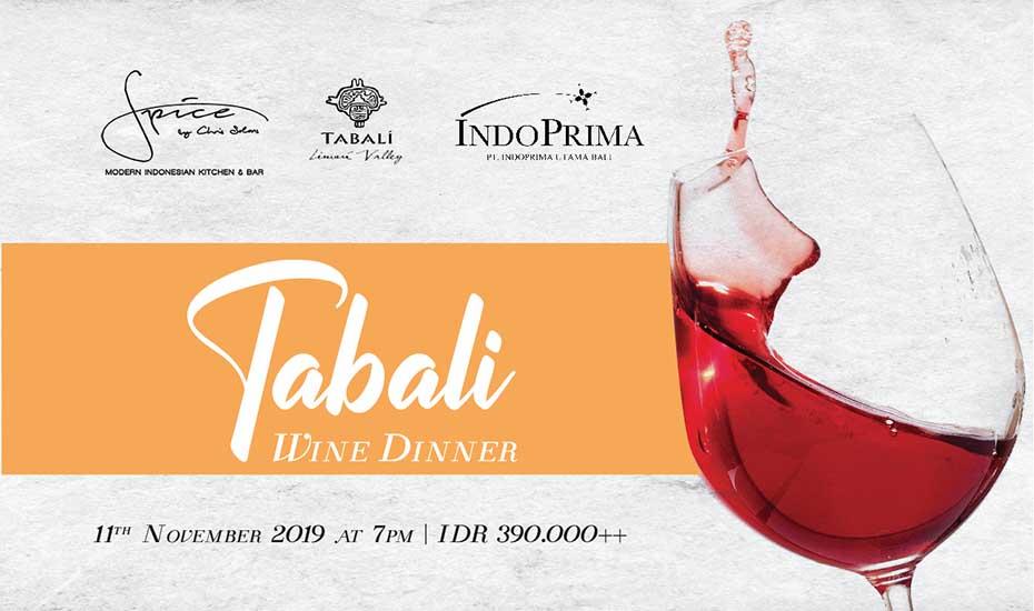Tabali Wine Dinner