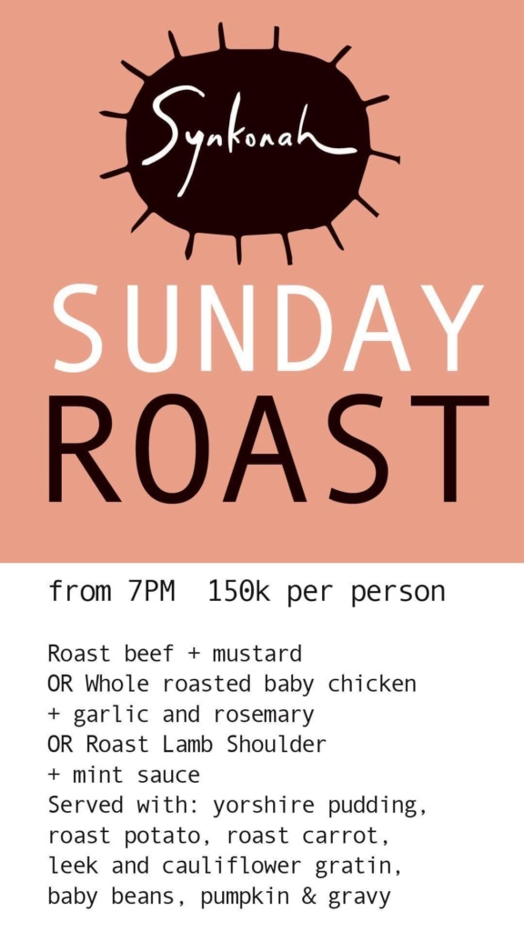 Sunday Roast At Synkonah