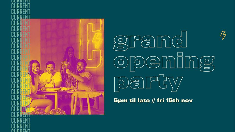 Current Social Club & Kitchen: Grand Opening Party