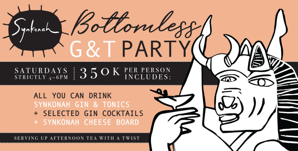 Bottomless Gin + Tonic Party