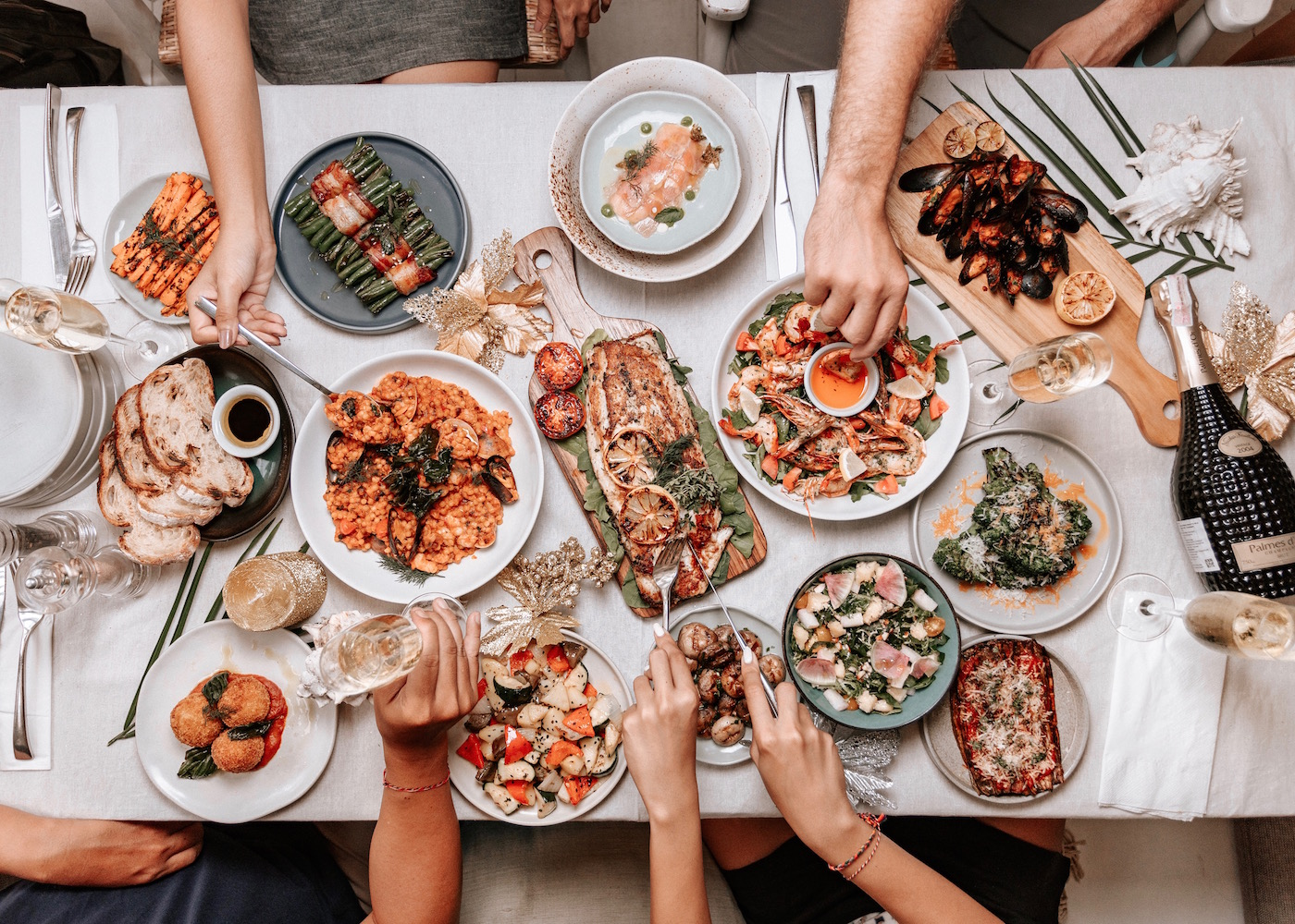 Feast of the Seven Fishes at Hippie Fish