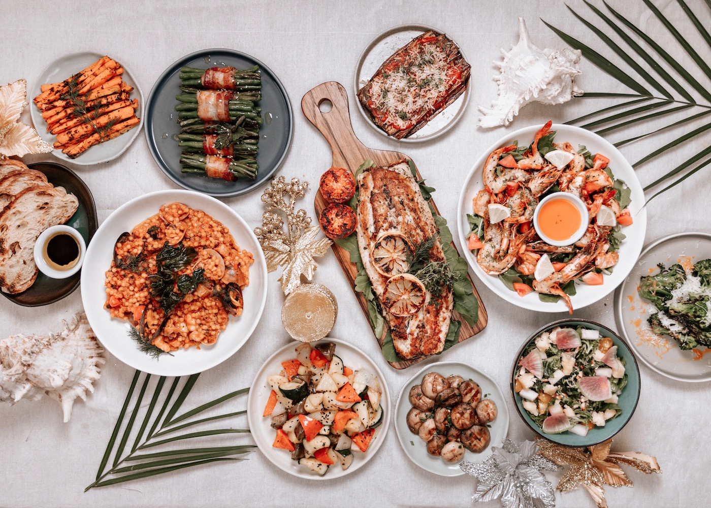 The Feast of the Seven Fishes at Hippie Fish