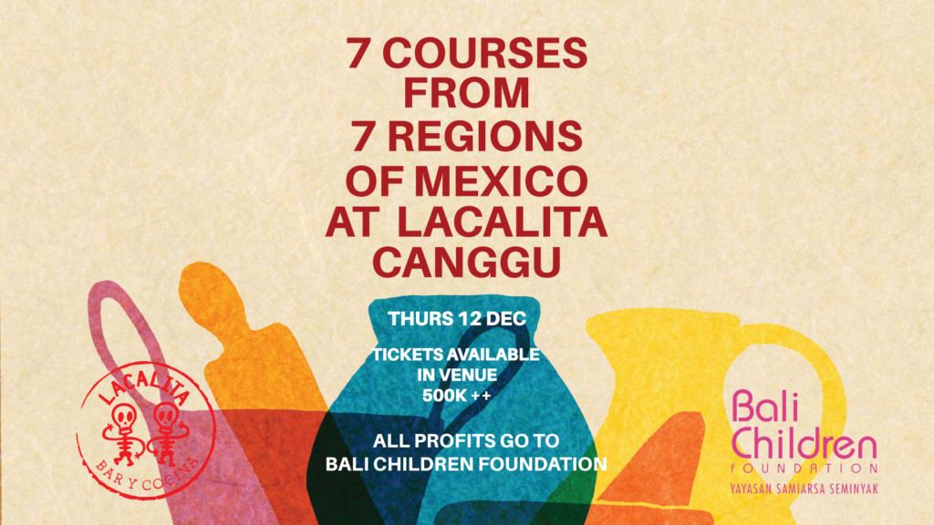 7 Courses from 7 Regions of Mexico