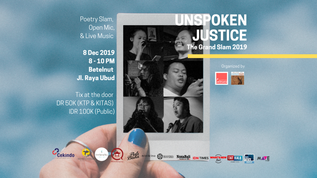 The Grand Slam 2019: UNSPOKEN JUSTICE