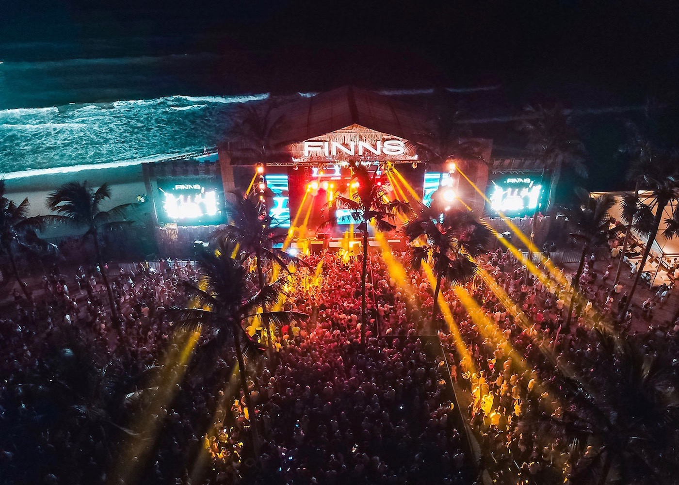 The Biggest New Year's Eve Party in Bali at Finns Beach Club