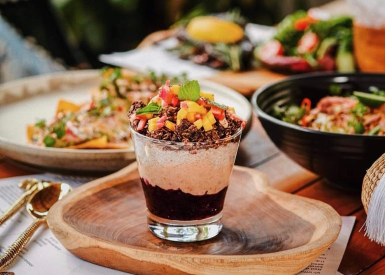 KIN Seminyak is an all-day cafe and restaurant in Bali with both healthy & indulgent food for everyone