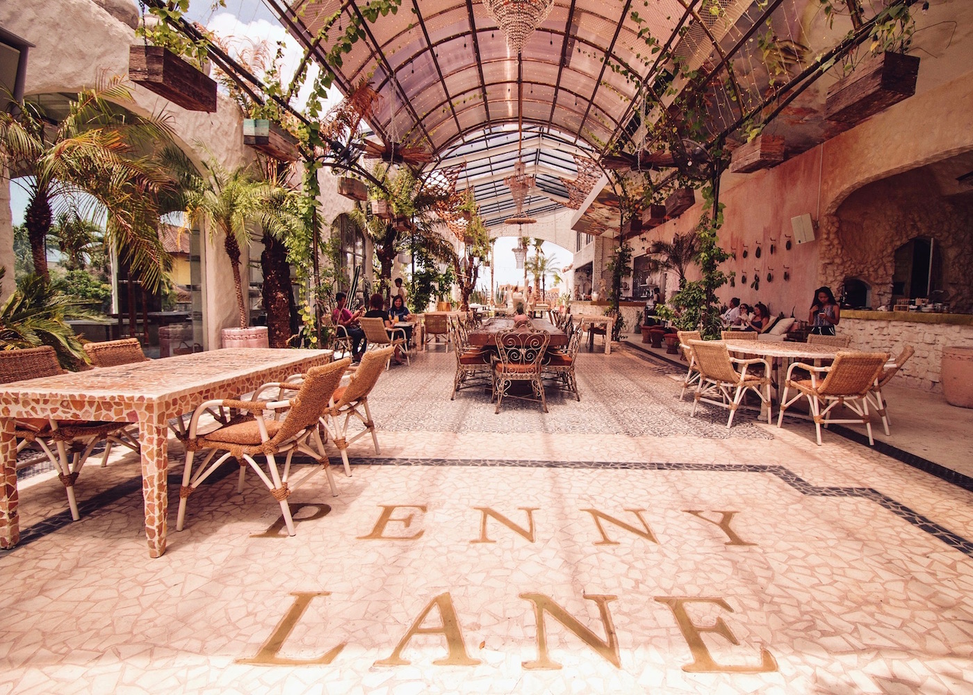 Penny Lane restaurant & bar in Canggu, Bali, indonesia