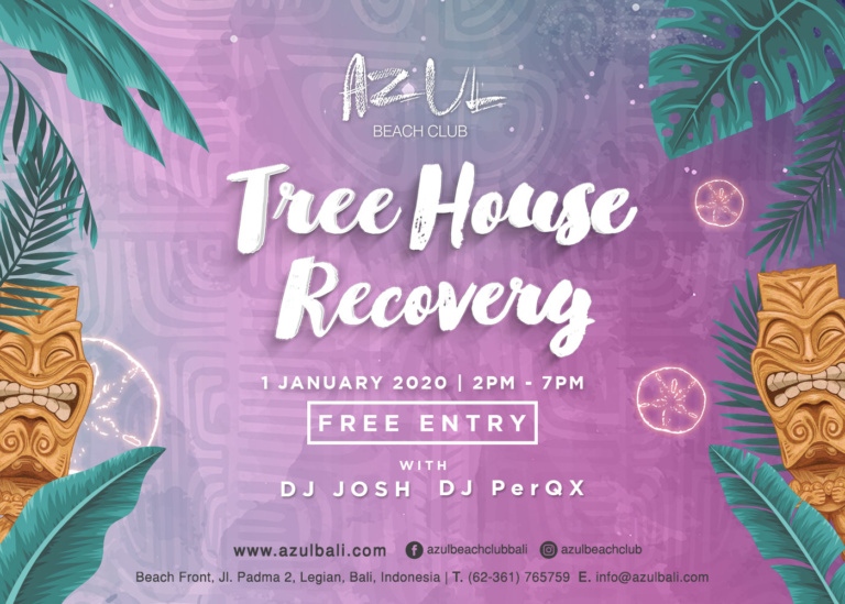 Threehouse Recovery Party at Azul Beach Club